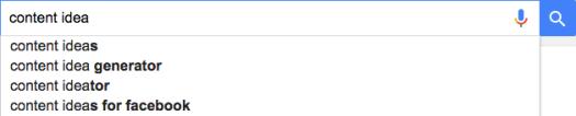 google screenshot suggest